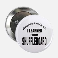"""I learned from Shuffleboar 2.25"""" Button (100 pack)"""