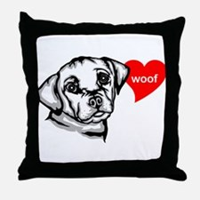 Carlin Pinscher Throw Pillow