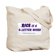 Condy Rice 4 Letters Tote Bag