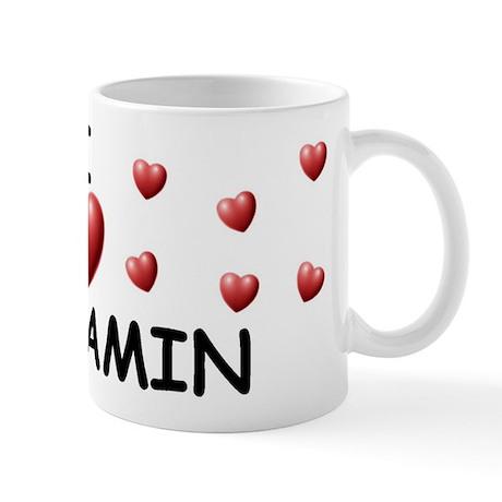 I Love Benjamin - Mug