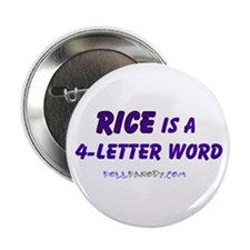 "Condy Rice 4 Letters 2.25"" Button"