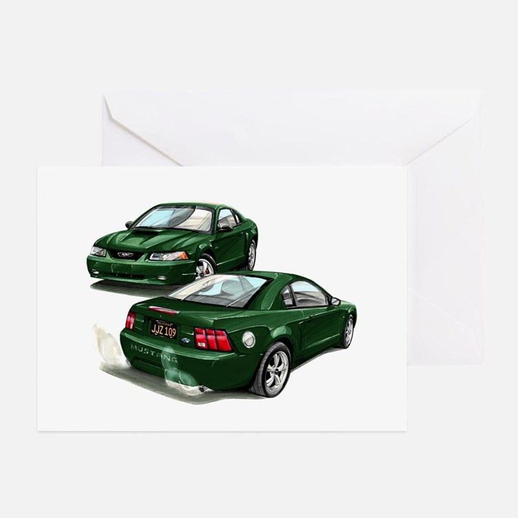 bullitt Greeting Cards