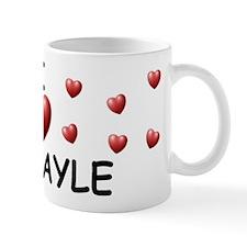 I Love Abigayle - Mug