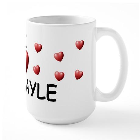 I Love Abigayle - Large Mug