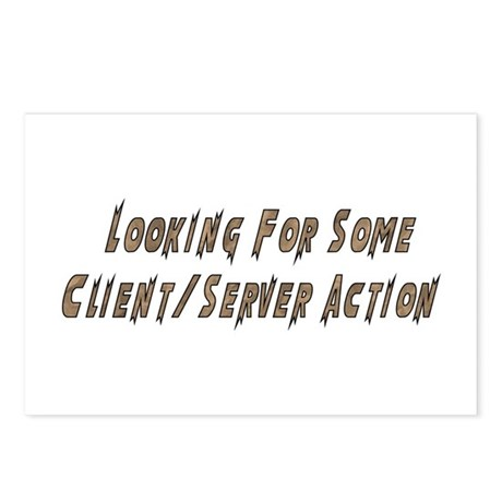 Client/Server Action Postcards (Package of 8)