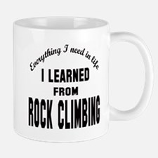 I learned from Rock Climbing Mug