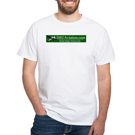 DSUAviation.com white T-Shirt