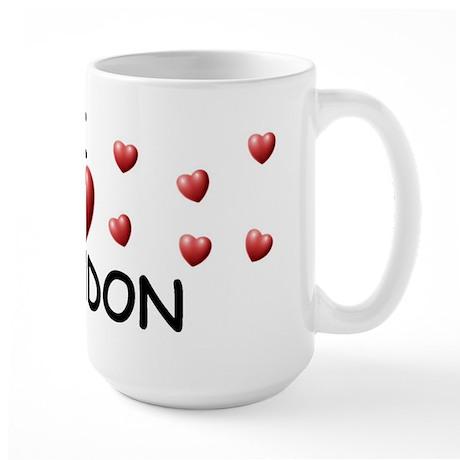 I Love Brendon - Large Mug