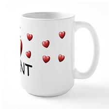 I Love Brent - Mug