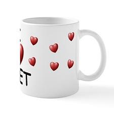 I Love Bret - Small Mug