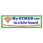 ... is a kite board