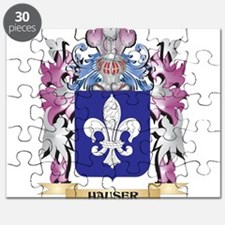 Hauser Coat of Arms (Family Crest) Puzzle