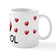 I Love Carol - Mug