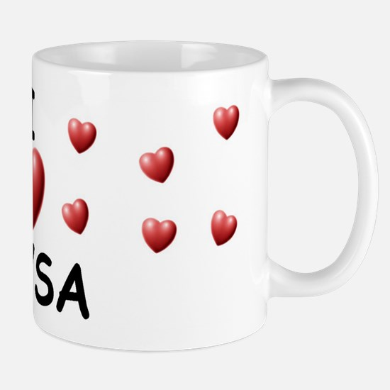 I Love Alysa - Mug