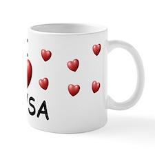 I Love Alysa - Small Mug