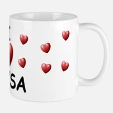 I Love Alysa - Small Small Mug
