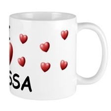 I Love Alyssa - Coffee Mug
