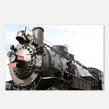 Grand Canyon Railway loco Postcards (Package of 8)