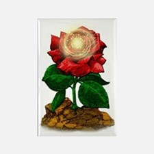 Rose & Universe Rectangle Magnet