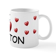 I Love Clayton - Mug