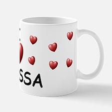 I Love Anissa - Mug