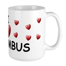 I Love Columbus - Mug