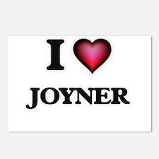 I Love Joyner Postcards (Package of 8)