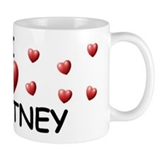 I Love Courtney - Mug