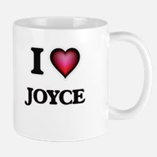I Love Joyce Mugs