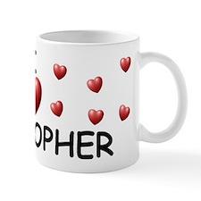 I Love Cristopher - Mug