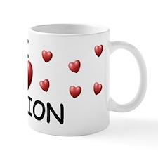 I Love Damion - Small Mug