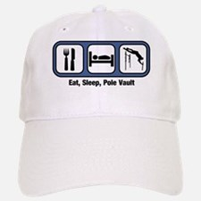 Eat, Sleep, Pole Vault Baseball Baseball Cap