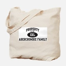 Property of Abercrombie Famil Tote Bag