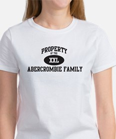 Property of Abercrombie Famil Women's T-Shirt