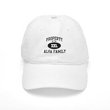 Property of Alva Family Baseball Cap