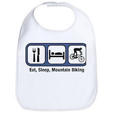 Eat, Sleep, Mountain Biking Bib