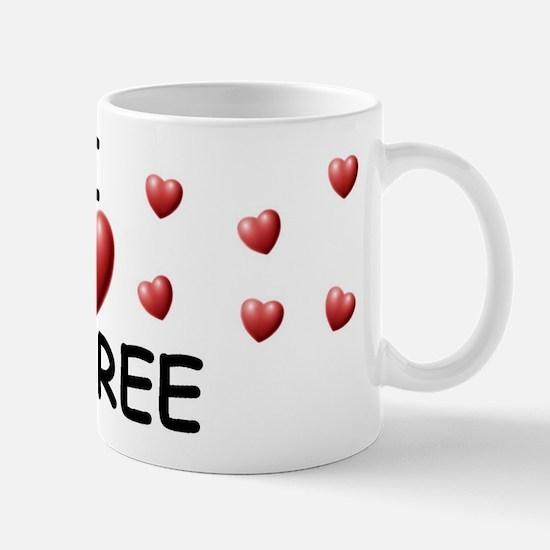 I Love Aubree - Mug