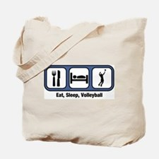 Eat, Sleep, Mens Volleyball Tote Bag