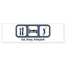 Eat, Sleep, Mens Volleyball Bumper Bumper Sticker