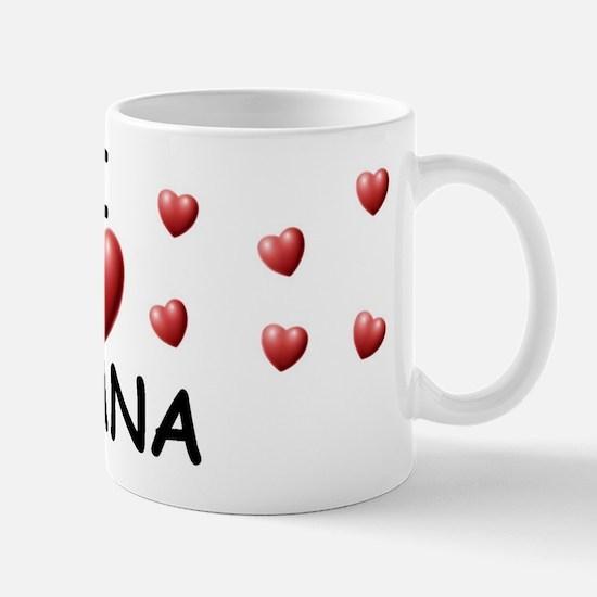 I Love Ayana - Mug