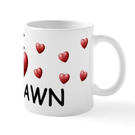 I Love Deshawn - Mug