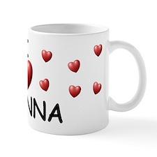 I Love Ayanna - Mug