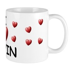 I Love Devin - Mug