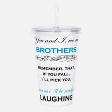 Brothers Acrylic Double-wall Tumbler