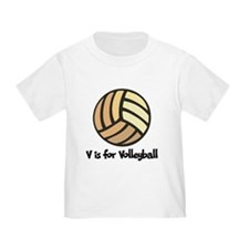 V is for Volleyball T