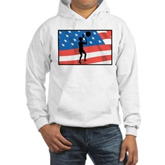 Volleyball In America Hoodie