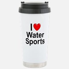 Water Sports Stainless Steel Travel Mug