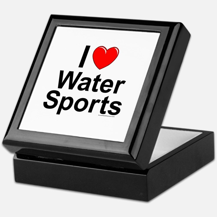 Water Sports Keepsake Box