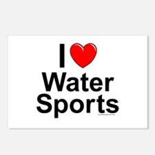 Water Sports Postcards (Package of 8)