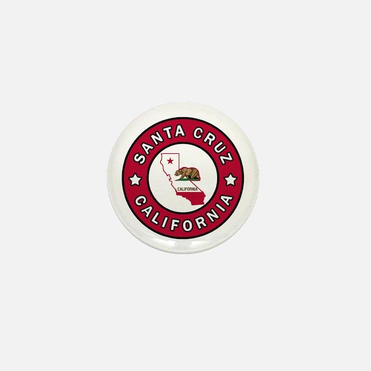 Cute Marina california Mini Button